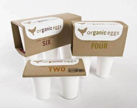 Упаковка «Organic Eggs»