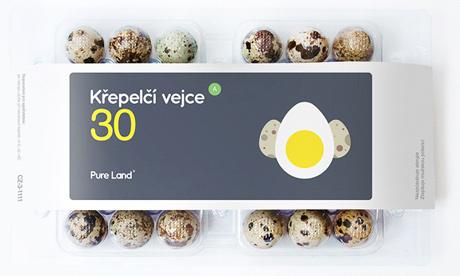 Упаковка для делікатесів - перепелиних і страусиних яєць