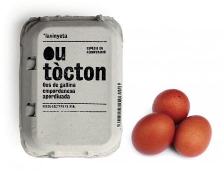 "Упаковка для яєць бренду ""Outòcton"""