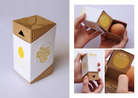 Упаковка для пари яєць