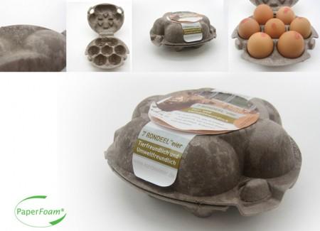 Екологічний лоток для яєць PaperFoam