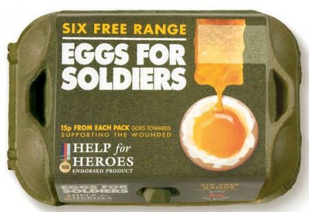 Пакування харчових яєць для британських військових